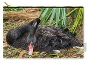 Black Swan At Nest Carry-all Pouch
