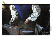 Blacksmith At The Old Fort Carry-all Pouch