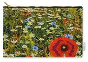 Blossoming Meadow Carry-all Pouch