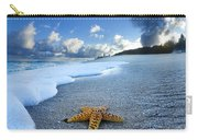 Blue Foam Starfish Carry-all Pouch