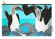 Blue Footed Boobies. Carry-all Pouch