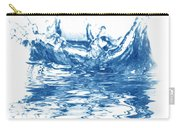 Blue Fresh Water  Carry-all Pouch