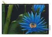 Blue Lotus Carry-all Pouch