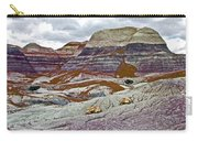 Blue Mesa Trail In Petrified Forest National Park-arizona Carry-all Pouch
