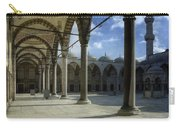 Blue Mosque Courtyard Carry-all Pouch