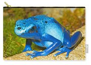 Blue Poison Dart Frog Carry-all Pouch