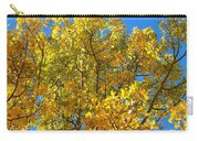 Blue Skies And Golden Aspen Trees Carry-all Pouch