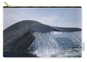 Blue Whale Tail Sea Of Cortez Mexico Carry-all Pouch