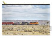 Bnsf 9112 Westbound From Boron Carry-all Pouch