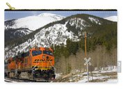 Bnsf Rolls Through Rollins Pass Colorado Carry-all Pouch