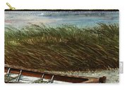Boat On Shore Carry-all Pouch