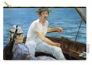 Boating Carry-all Pouch by Edouard Manet