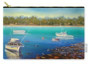 Boats At Merimbula Australia  Carry-all Pouch