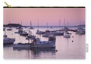 Boats In The Atlantic Ocean At Dawn Carry-all Pouch