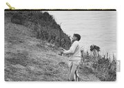Bobby Jones At Pebble Beach Carry-all Pouch
