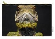 Bocourts Dwarf Iguana Choco Rainforest Carry-all Pouch
