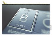 Boron Chemical Element Carry-all Pouch
