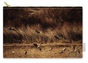 Bosque Del Apache New Mexico-sand Cranes V2 Carry-all Pouch