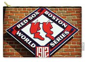 Boston Red Sox 1912 World Champions Carry-all Pouch