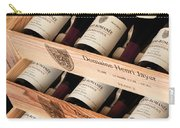 Bottles Of Vosne-romanee Premier Cru Cros Parantoux Carry-all Pouch by Anonymous