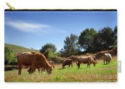 Bovine Cattle  Carry-all Pouch by Carlos Caetano