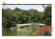 Bow Bridge Over The Lake Carry-all Pouch
