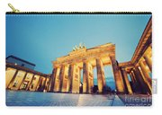 Brandenburg Gate Berlin Germany Carry-all Pouch