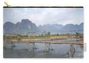 Bridge In Vang Vieng Laos Carry-all Pouch