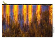 Bridge Of Lions Reflections St Augustine Florida Painted    Carry-all Pouch