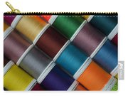 Bright Colored Spools Of Thread Carry-all Pouch