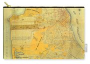 Britton And Reys Guide Map Of The City Of San Francisco. 1887. Carry-all Pouch