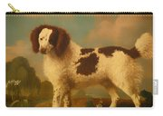 Brown And White Norfolk Or Water Spaniel Carry-all Pouch
