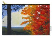 Brown County Indiana Carry-all Pouch by Katherine Miller