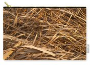 Brown Reeds Carry-all Pouch