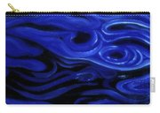 Brush Strokes In Blue Carry-all Pouch