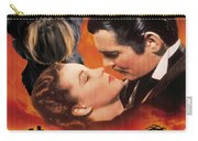Brussels Griffon Art - Gone With The Wind Movie Poster Carry-all Pouch