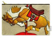 Bucking Bronco Carousel Horse Carry-all Pouch