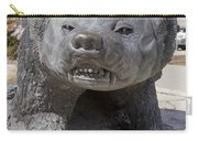 Badger Statue 4 At Uw Madison Carry-all Pouch