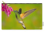 Buff-tailed Coronet Hummingbird Carry-all Pouch