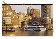 Buildings At The Waterfront, Boston Carry-all Pouch