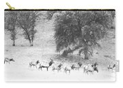 Bull Elk With Harem Carry-all Pouch