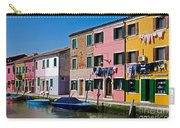 Burano, Venice Carry-all Pouch