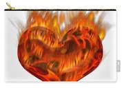 Burning Love  Brennende Liebe Carry-all Pouch