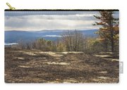 Burnt Blueberry Field In Maine Carry-all Pouch