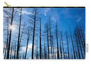 Burnt Pine Trees In A Forest, Grand Carry-all Pouch