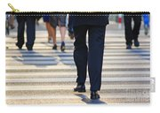 Business People Background Carry-all Pouch