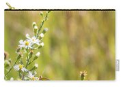 Butterfly In A Field Of Flowers Carry-all Pouch