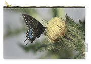 Butterfly On Thistle Carry-all Pouch