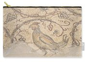 Byzantine Mosaic Depicting Animals And Hunting Scenes. Carry-all Pouch