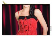 Cabaret Show Girl Performer In The Stage Spotlight Carry-all Pouch